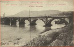 "-  64  -  Hendaye  -  Le  Pont  International  De  Chemin  De  Fer - Le  Garde - Cote : Le  "" Chasseur ""  . - Hendaye"