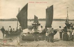 Dép 62 - Bateaux De Pêche - Etaples - Départ Pour La Pêche - état - Etaples
