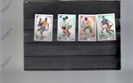 ANTIGUA Nº 344 AL 347 - Coppa Del Mondo