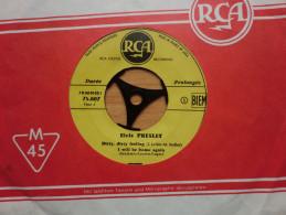 Vinyl Single Aus Frankreich Sehr Selten Elvis Presley 4 Lieder - 45 Rpm - Maxi-Singles