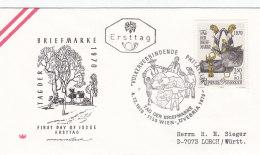 Österreich 1970 - Nr. 1350 - Tag Der Briefmarke - FDC Ersttagsbrief - FDC
