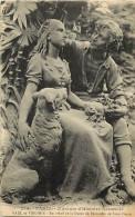 - Ref M759- Paris - Museum D Histoire Naturelle - Paul Et Virgine - Bas Relief Statue De Bernardin De Saint Pierre - - Musea