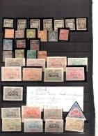 Timbres Des Colonies Françaises Neufs Avec Charnières Et  Oblitérés   , OBOCK :37 Timbres - Obock (1892-1899)