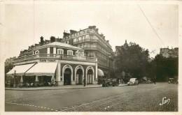 Photo Cpsm Cpm 75 PARIS XVI° Ancienne Gare Café Tabac Le Flandrin Avenue Victor Hugo Et Henri Martin - Arrondissement: 16