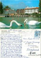 Hotel Pilatus, Hergiswil Am See, NW Nidwalden, Switzerland Postcard Posted 1990 Stamp - NW Nidwald