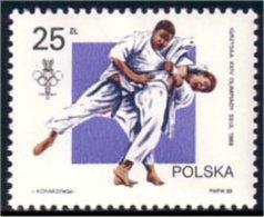 740 Pologne Judo MNH ** Neuf SC (POL-137)