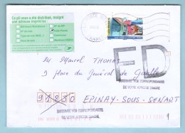 Fausse Direction, Adresse Imprécise, Marcophilie - Marcophilie (Lettres)