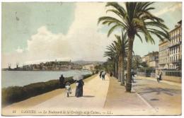 Cannes - Le Boulevard De La Croisette Et Le Casino - LL 21 - Postmark 1907 - Cannes