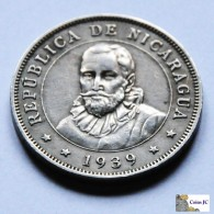 Nicaragua - 50 Centavos - 1939 - Nicaragua