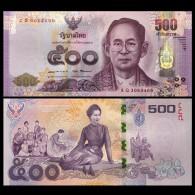 Thailand 500 Baht, 2016, P-New, 84th Year, UNC COMM. - Thaïlande