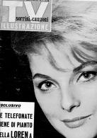 TV Sorrisi E Canzoni Illustrazione - N. 8 Del 21 Febbraio 1965 - Virna Lisi - S. Loren - C. Ponti - Beatles - Libri, Riviste, Fumetti