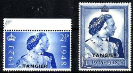 Marruecos Inglés Tanger Nº 27/8 En Nuevo - Uffici In Marocco / Tangeri (…-1958)