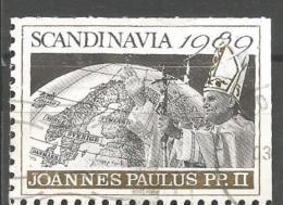 ICE49--  ITALIA,CHIUDI LETTERA,   SCANDINAVIA,  JOANNES  PAULUS  PP  II.     1989 - Celebrities
