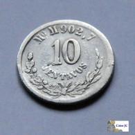 México - 10 Centavos - 1886 - Mexique