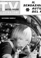 TV Sorrisi E Canzoni Illustrazione - N. 44 Del 30 Ottobre 1966 - C. Caselli - Paolo VI - Celentano - Libri, Riviste, Fumetti