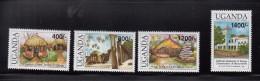 2002 Uganda  Historical Sites Of East Africa Complete Set Of 4 MNH - Uganda (1962-...)
