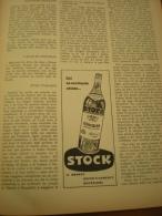 Advertising Pubblicità STOCK 84 BRANDY   - 1959 - Alcolici