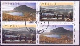 ZWEDEN 2004 Lapland HBL GB-USED - Suède