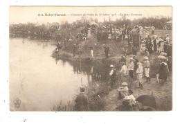 CPA 18 SAINT FLORENT Concours De Pêche Du 13 Juillet 1905 En Plein Concours Animation Pêcheurs - Saint-Florent-sur-Cher