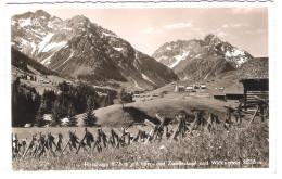 Österreich - Hirschegg Mit Widderstein  Elfer- Und Zwölferkopf - Vorarlberg - Kleinwalsertal