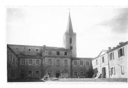 SAINTE MARIE DE BOULAUR (32) Photographie Format Cpa Monastère Cour - Non Classés