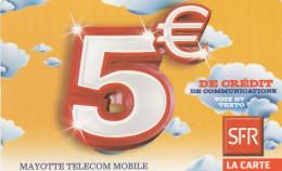 Mayotte - De Credit De Communications - 5€ (07/11)