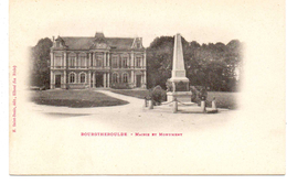 - FRANCE (27) - CPA PRECURSEUR Vierge BOURGTHEROULDE - Mairie Et Monument - Edition H. Saint-Denis - - Bourgtheroulde