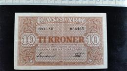 Billet De 10 Kroner Danmark, - Danemark