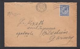 LETTRE DE DONCASTER YORK  POUR L'ALLEMAGNE,1928. - 1902-1951 (Rois)