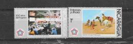 Nicaragua 1976  Nr Y&T 1041/42 (**) - Nicaragua
