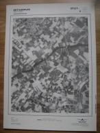 GRAND PHOTO VUE AERIENNE 66 Cm X 48 Cm De 1979   ESTAIMPUIS SAINT LEGER - Cartes Topographiques