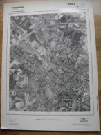 GRAND PHOTO VUE AERIENNE 66 Cm X 48 Cm De 1979  TOURNAI TOURNAY 37/6/2 - Cartes Topographiques