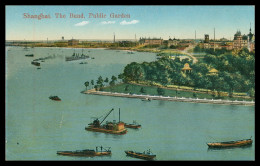 ASIA - CHINA - SHANGAI - The Bund. Public Garden  ( Ed. Kingshill Nº 198)    Carte Postale - Chine