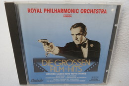 "CD ""Die Grossen Film-Hits"" Western / James Bond Movie Themes, Royal Philharmonic Orchestra London - Filmmusik"