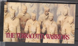 Uno United Nations 1997,complete Booklet The Terracotta Warriors,MNH/Postfris(C092) - Archeologie