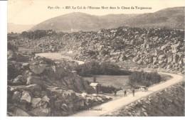POSTAL   LE COL DE L´HOMME MORT DANS LE CHAOS DE TARGASONNE  -PIR.ORIENT.- - Francia