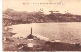 POSTAL    PIRINEOS ORIENTALES  -FRANCIA-  LAGO LA BOUILLOUSE -ESPACIO NATURAL PROTEGIDO - - Francia