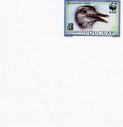Uruguay 1993, WWF, Nandu, 1val IMPFERFOATED Marginal Border - W.W.F.