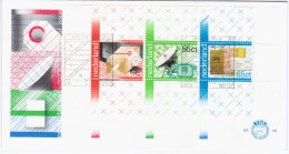 Nederland Netherlands 1981 FDC 100 Years PTT Services, Parcel Post, Telephone, Post-office Savings Bank - FDC