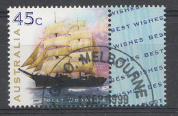 Australie 1999  Mi.nr: 1794 Segelschiffe   OBLITERE / USED / GEBRUIKT