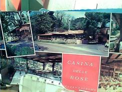 GENZANO DI ROMA  TRATTORIA CASINA DELLE ROSE N1970  FQ5822 LUNGA 21,5  X 10 - Other Cities