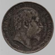 Grande-Bretagne - 6 Pences, 1902 - 1816-1901 : Frappes XIX° S.