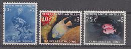 Ned.Antillen 1960 Nvph Nr: 315-317 Unterwasserleben  Neuf Sans Charniere-MNH-Postfris - Niederländische Antillen, Curaçao, Aruba
