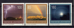 Liechtenstein 2007 / Meteorology MNH Meteorología Meteorologie / Jj28  31 - Clima & Meteorologia