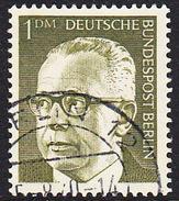 !b! BERLIN 1970 Mi. 369 USED SINGLE (d) - Federal President Dr. Heinemann - [5] Berlin