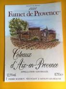 1969 -  Fumet De Provence 1998 Coteaux D'Aix-en-Provence - Rouges
