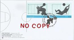 Onu, New York, 17.8.2012, Sport For Peace, Paralympic Games, Busta Primo Giorno Di Emissione. - Handisport