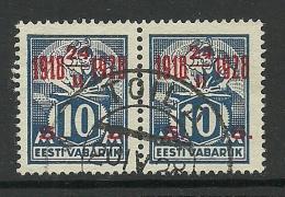 ESTONIA 1928 Cancel TOILA - Estonia