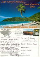 Cane Garden Bay, Tortola, British Virgin Islands Postcard Posted 2004 Stamp - Vierges (Iles), Britann.