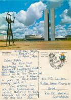 Congress Building, Brasilia, Brazil Postcard Posted To Brazil 1969 Stamp - Brasilia